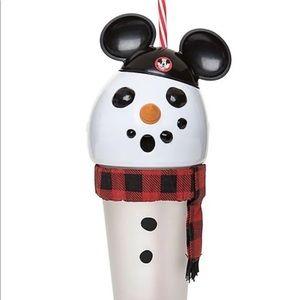 Disney Mouseketeer Snowman Light-Up Tumbler &straw